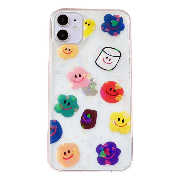 Call Me Smiley IPhone Case