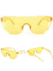 yellow Soleil Sunglasses booglez apparel