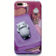 Squish Cat Case boogzel apparel