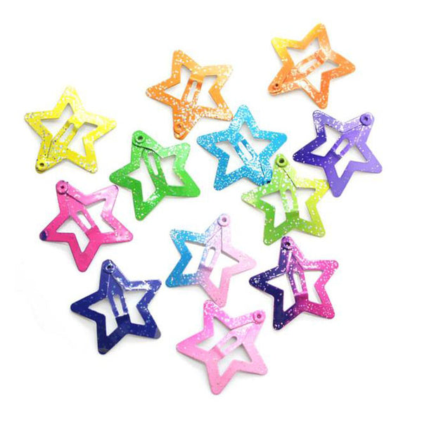Star Snap Hair Clips