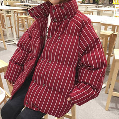 winter Padded Jacket red