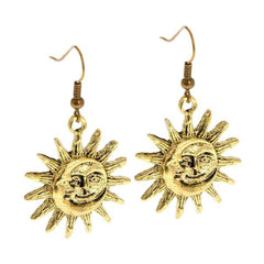 Sun Moon Earrings
