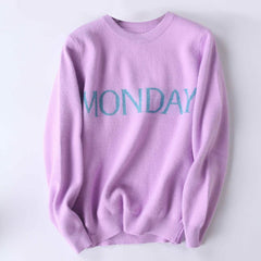 Monday sweater boogzel apparel