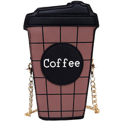 Takeaway Coffee Clutch at Boogzel Apparel