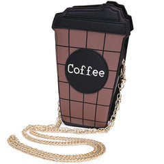 Shop Takeaway Coffee Clutch at Boogzel Apparel