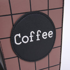 Buy Takeaway Coffee Clutch at Boogzel Apparel
