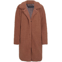 Teddy Winter Coat at Boogzel Apparel