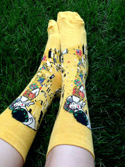 Shop The Kiss Klimt Socks Boogzel Apparel