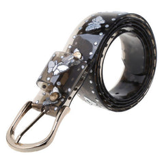 Buy Transparent Butterfly black Belt at Boogzel Apparel Free Shipping