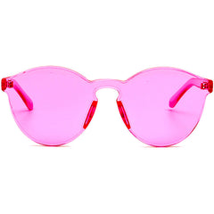 shop transparent pink sunglasses boogzel apparel