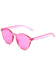 buy transparent pink sunglasses boogzel apparel