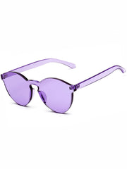 shop transparent violet sunglasses boogzel apparel