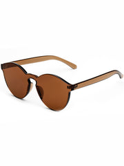 shop transparent brown sunglasses boogzel apparel
