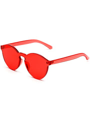 shop transparent red sunglasses boogzel apparel