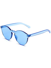 shop transparent blue sunglasses boogzel apparel