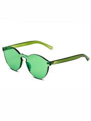 shop transparent green sunglasses boogzel apparel