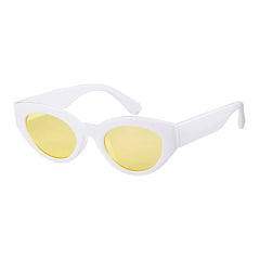 Shop Twiggy Sunnies at Boogzel Apparel Free Shipping Yellow White