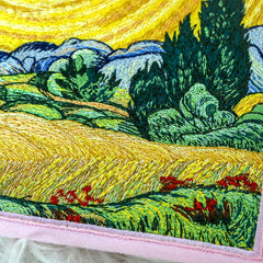 van gogh embroidery boogzel apparel