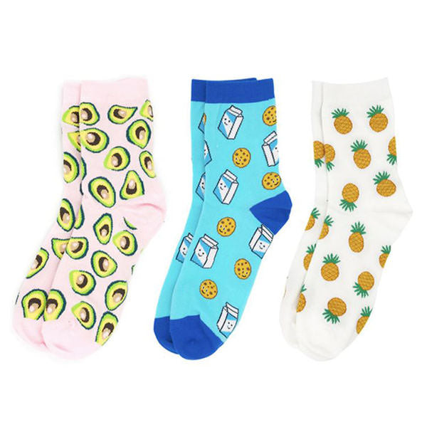 Yummy 3 Pack Socks