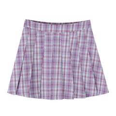 aesthetic clothes pleated skirt boogzel apparel
