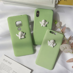 3d angel phone case