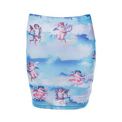 Angel Mini Skirt