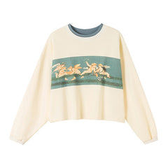 Angel Crop Sweatshirt