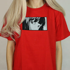 Anime embroidery T-Shirt