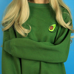 Avocado Sweatshirt boogzel apparel