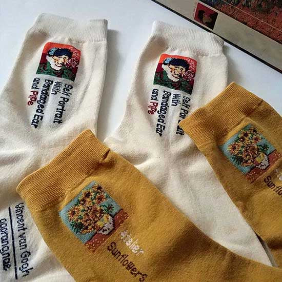 Van Gogh Series 2 Pack Socks