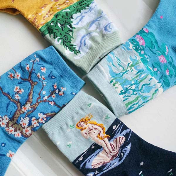 Art Series 4 Pack Socks