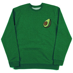avocado embroidered sweatshirt boogzel apparel