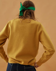 Avocado Jumper yellow buy boogzel apparel free shipping