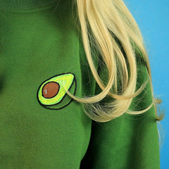 Avocado embroidery  boogzel apparel