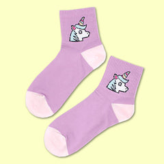 unicorn socks boogzel apparel