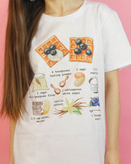 belgian waffles recipe t-shirt boogzel apparel