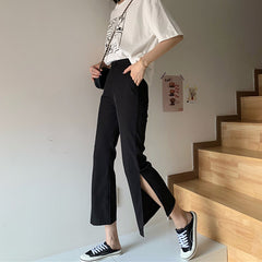 Self Made Slit Pants