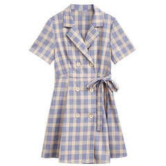 plaid dress boogzel apparel