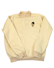 kimoji sweatshirt beige shop boogzel apparel free shipping