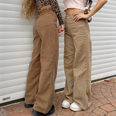 Totally Over It Wide Cord Pants