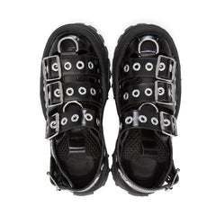 buckle sandals boogzel apparel