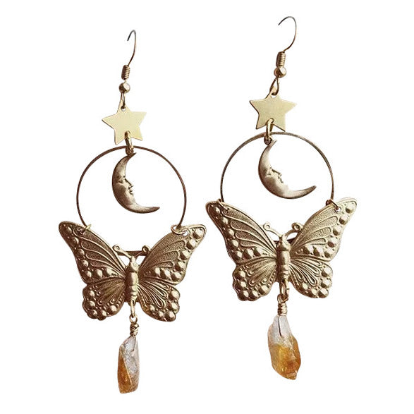 Butterfly Vintage Aesthetic Earrings