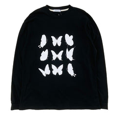 buttefly long sleeve t-shirt