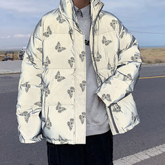 Butterfly Reflective Jacket boogzel apparel