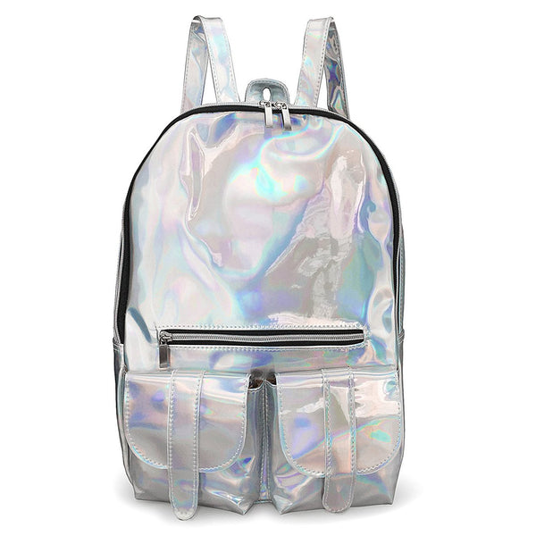 Acid Holographic Backpack