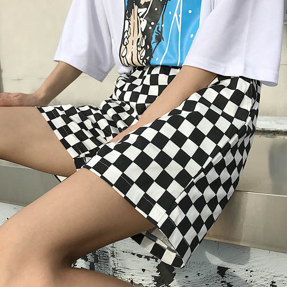 Checker Shorts