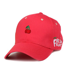 Merry Cherry Baseball Cap boogzel apparel