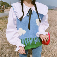 Cloud Knit Vest