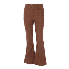 Flared Corduroy Pants