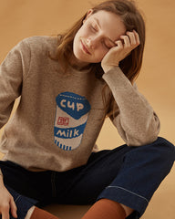 Cup of milk jumper boogzel apparel free shipping buy